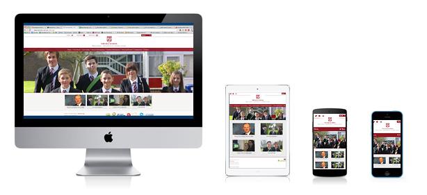 responsive-sele-school-website