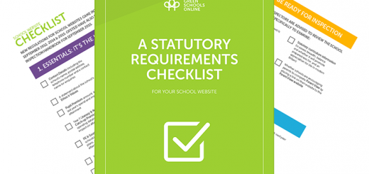 Ofsted website checklist