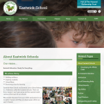 Eastwick Schools Inside Page by Greenhouse School Websites