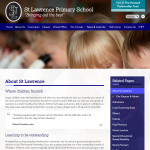 St Lawrence Primary School Inside Page by Greenhouse School Websites
