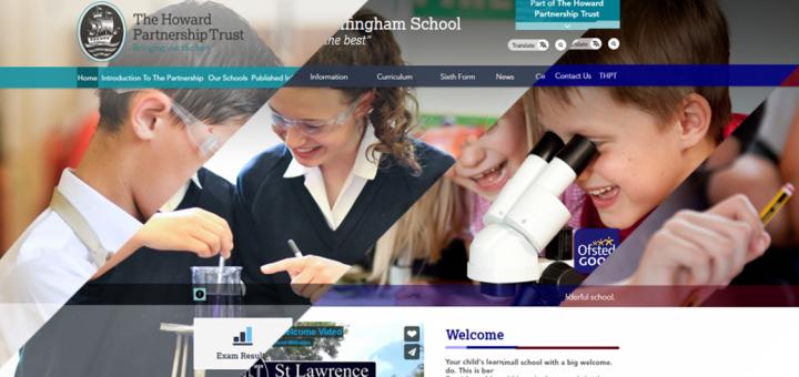 Multi Academy Trust Websites by Greenhouse School Websites