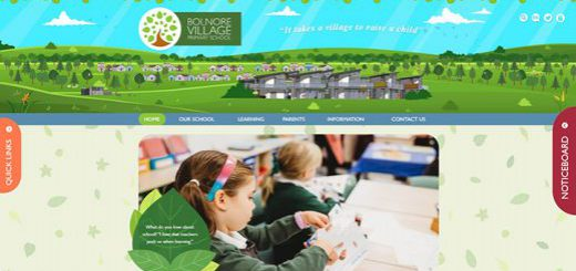 Bolnore Village Primary School Website Design by Greenhouse