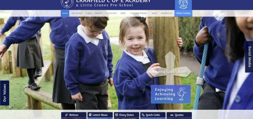 Latest School Website Design – February