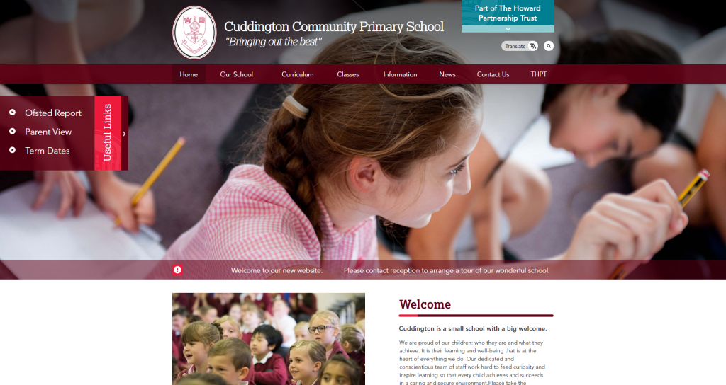 Cuddington Community Primary School by Greenhouse School Websites