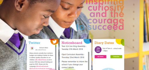 Richard Atkins Primary School Website Design by Greenhouse School Websites