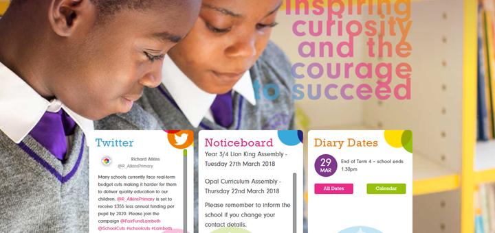 Richard Atkins Primary School Website Design by Greenhouse School Websites