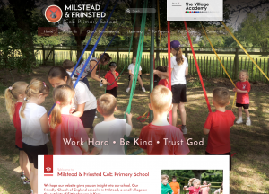 Milstead and Frinsted Primary Trust School Websites Design 2018 by Greenhouse School Websites