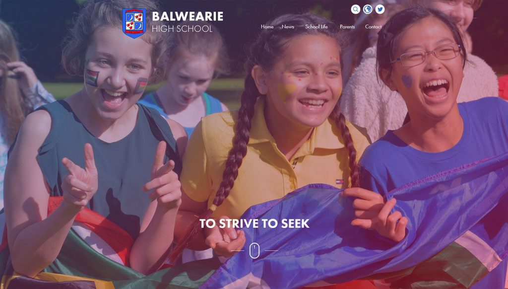 balwearie-primary-school-website-design