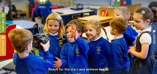 Primary School Website Design