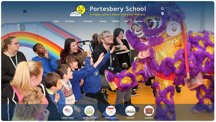 Special School Website Design