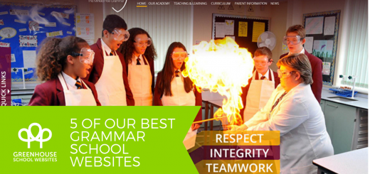 Best Grammar school websites