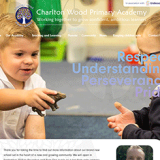charlton wood primary school website design