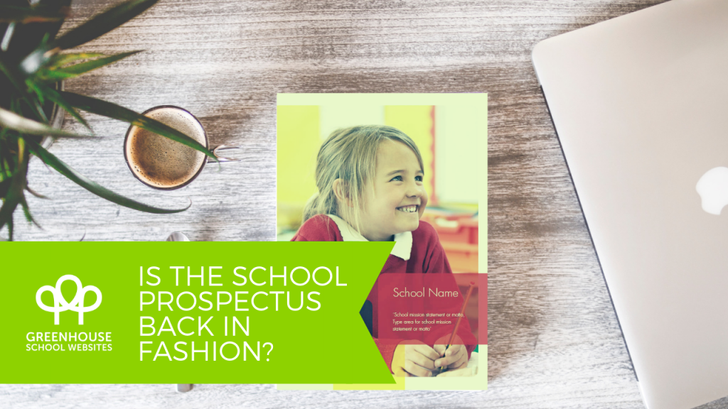 school prospectus back in fashion