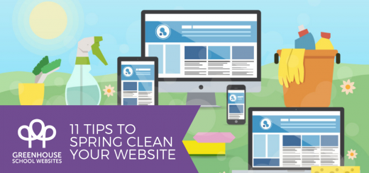 Spring clean your school website