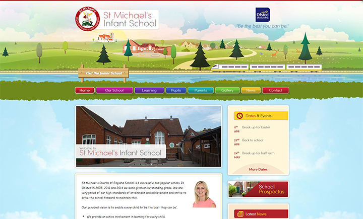 Local Landmarks school website