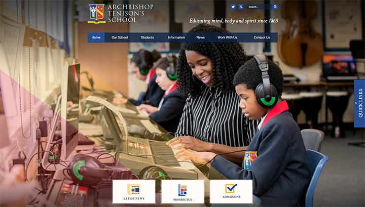 Secondary School Website Design