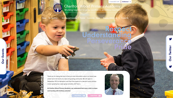 charlton-wood - The School Website Design Blog