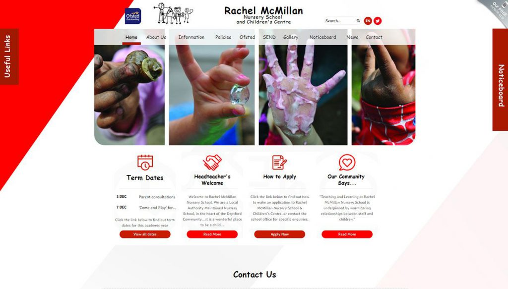 rachel mcmillan nursery website