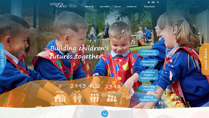 Primary School Trust Website Design