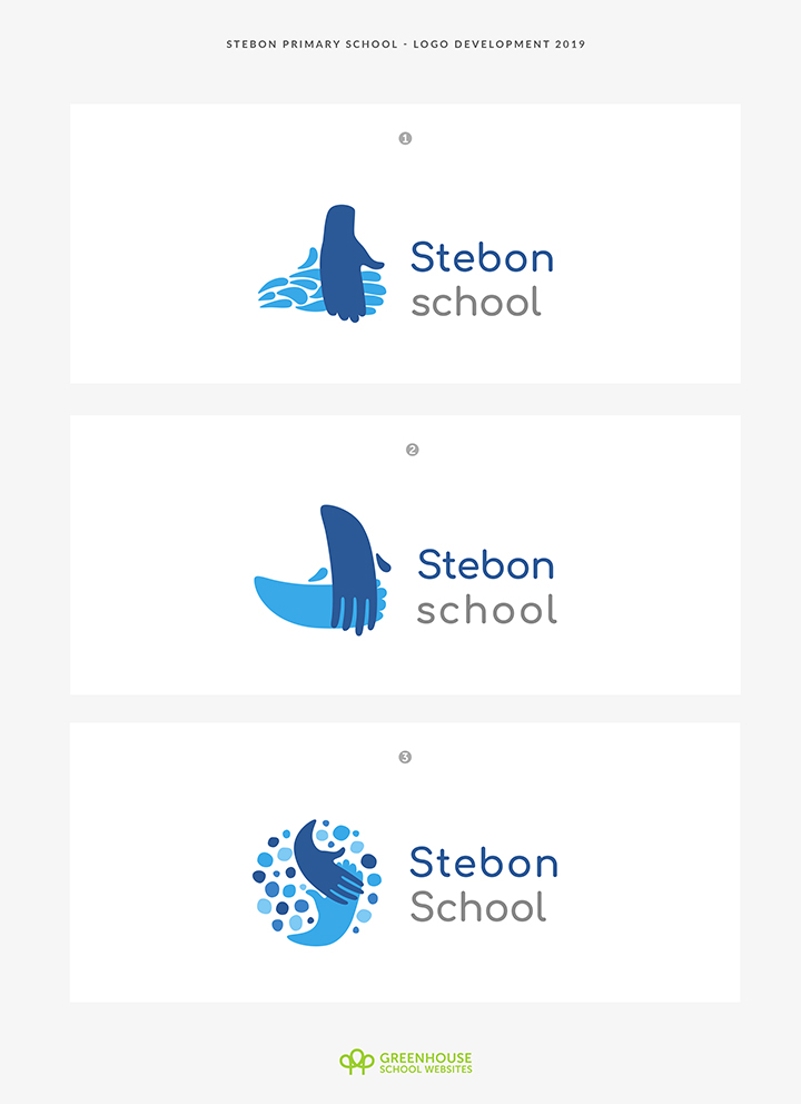 School Logo Design Mock ups