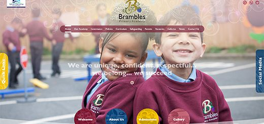 brambles-primary-school-website-design