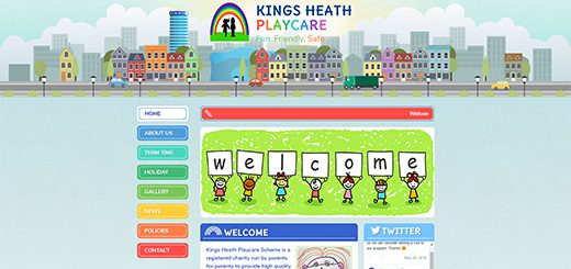 Nursery School Website Design