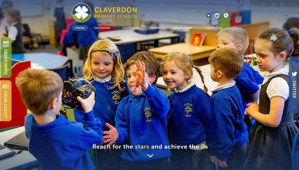 claverdon-primary-school-website-design