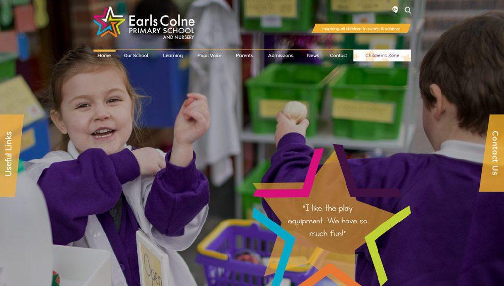 earls-colne-school-website-design