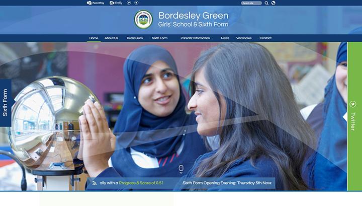 Bordesley-Green-School-Website-Design-UK
