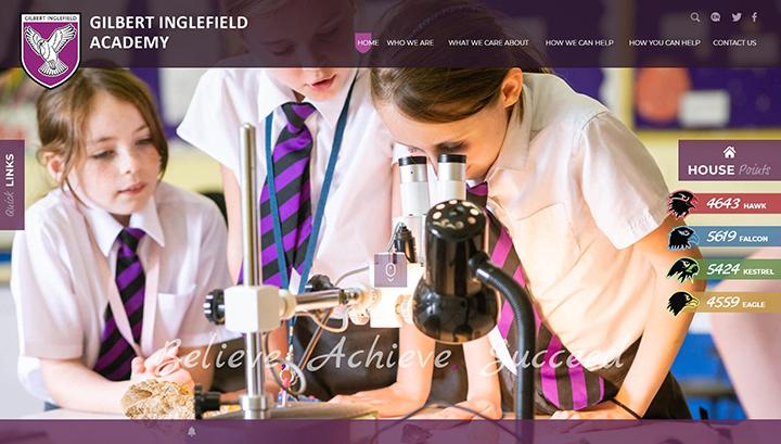 Academy Website Design UK