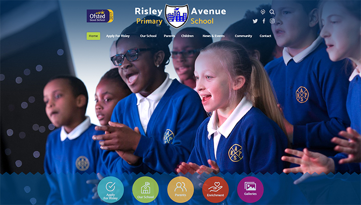 Risley-Avenue-Primary-School-Website-Design-UK