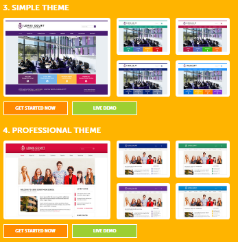 template-school-website-themes