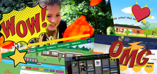School website WOW factor