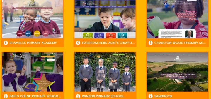 school website portfolio