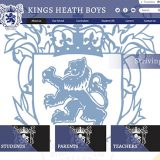 Kings Heath Birmingham School Website Design