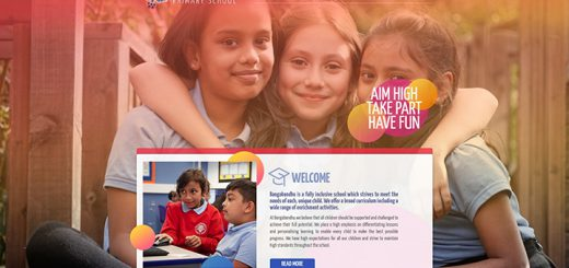 Tower Hamlets London School Website Design