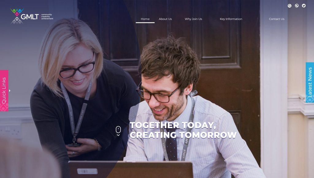 Greater Manchester Learning Trust website design