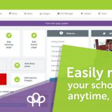 easily manage your school website