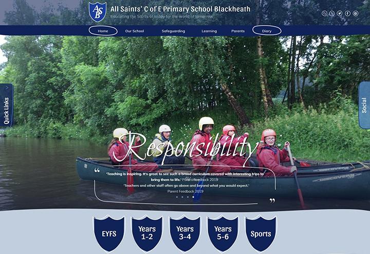 London Lewisham primary School website