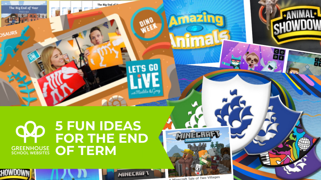Fun ideas for the end of term