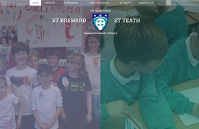 Screenshot of the The Federation of St. Teath & St. Breward website