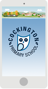 Screenshot of the Cockington Primary