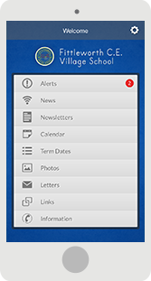 Screenshot of the Fittleworth Mobile App