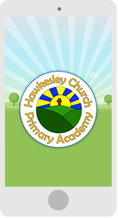 Screenshot of the Hawkesley Primary