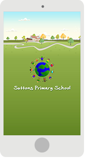 Screenshot of the Suttons Primary
